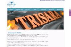 TRISARA Organic Studio <トリサラオーガニックスタジオ>のHP