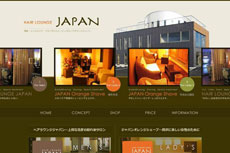 HAIR LOUNGE JAPAN<ヘアーラウンジ ジャパン>のHP
