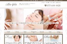 ビープロ Be-proのHP