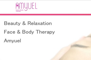 フェイスアンドボディセラピー アミュエル 大分店(Face&Body Therapy Amyuel)のHP