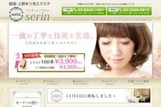 Serin<セリン> 銀座本店のHP