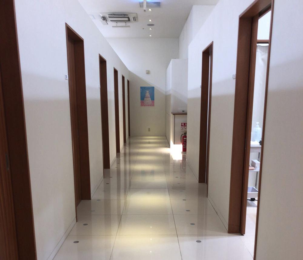ミュゼの廊下