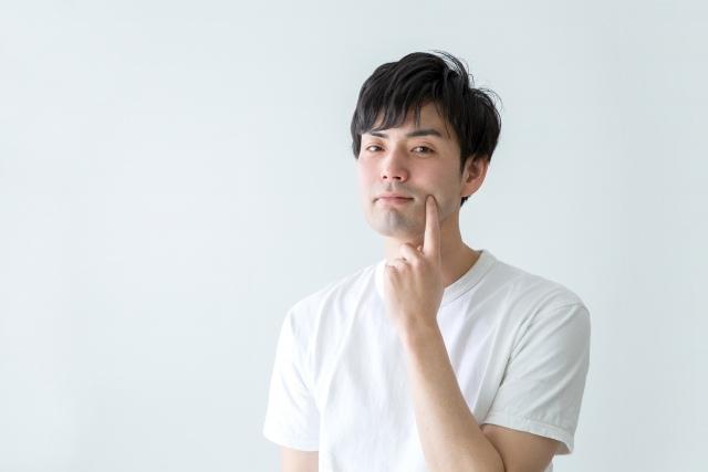 ひげを脱毛するか悩む男性